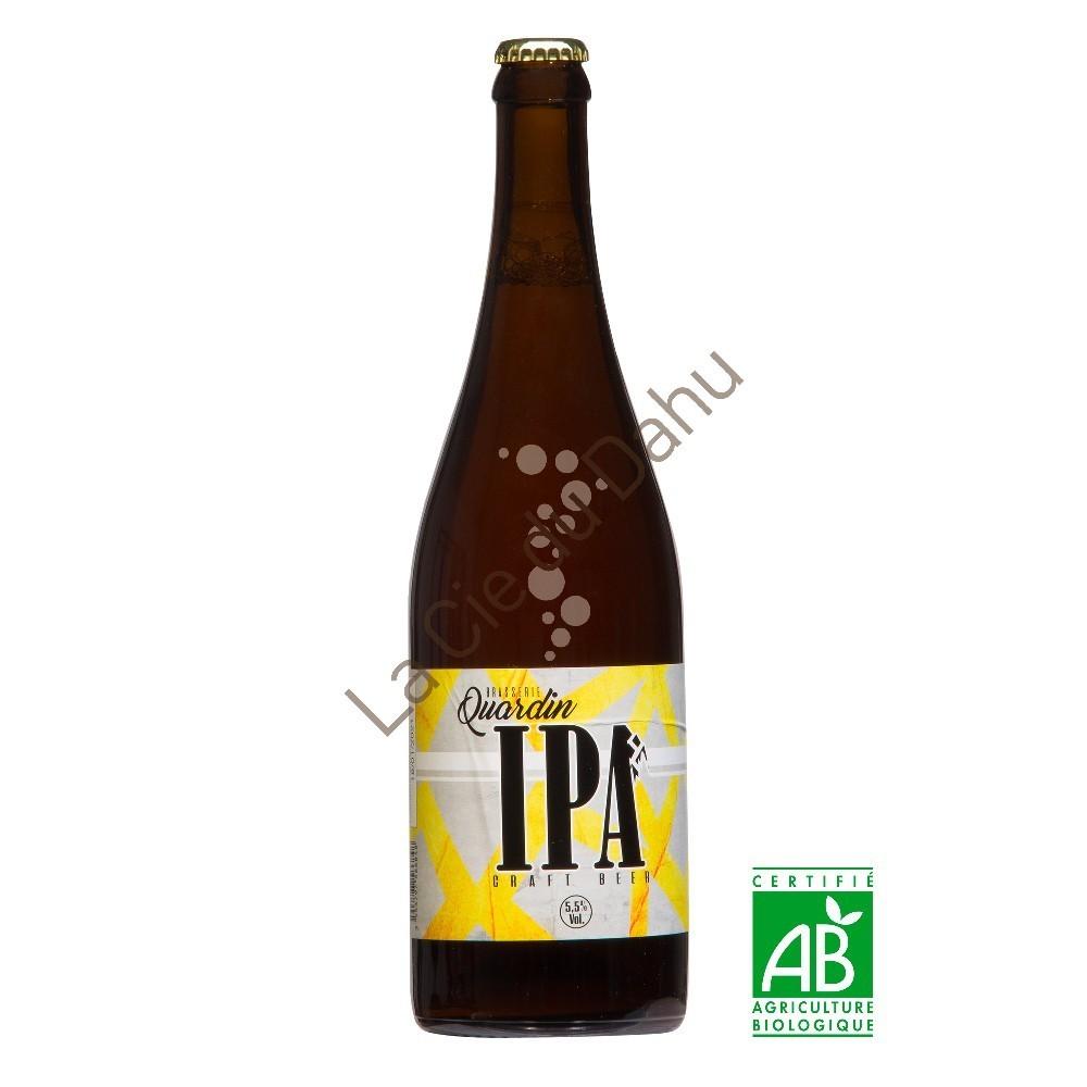 Savoie biere artisanale quenard quardin ipa 75cl