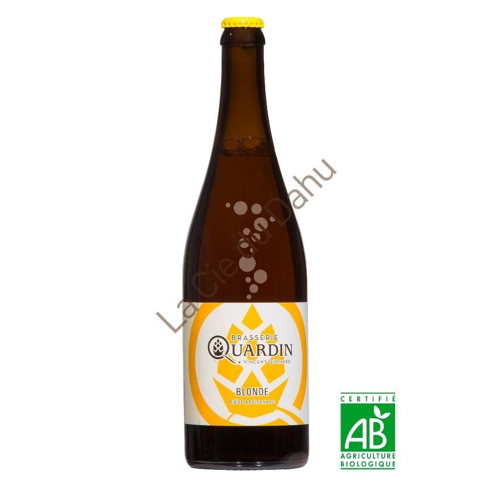 Savoie biere artisanale quenard quardin blonde 75cl